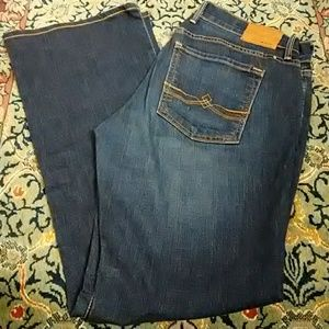 Lucky Brand Sweet'N Low Ankle Jeans Size 4/27